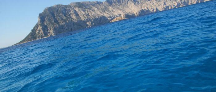 isola di tavolara dal mare